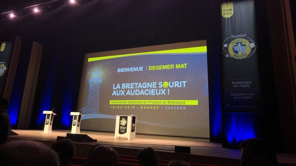 un 😀sur l'invitation de l'AG de Produit en Bretagne.
