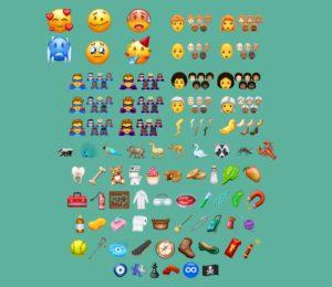 Pas d'emoji drapeau breton parmi les 157 nouveaux emojis présentés en 2018.