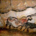 Licorne peinte sur les murs de la grotte de Lascaux.
