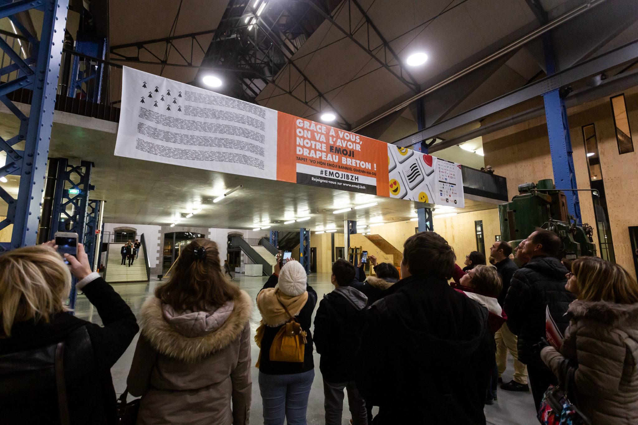 mur contributeurs emoji drapeau breton