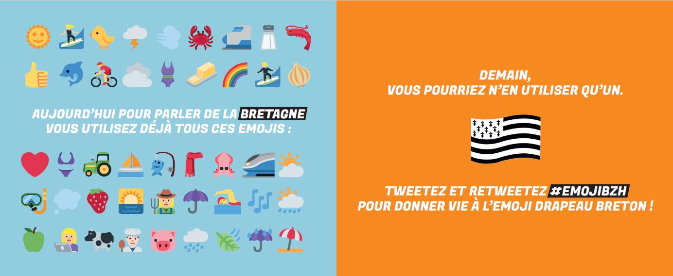 tweetez emoji drapeau breton